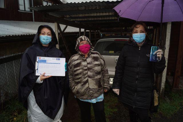 Puyehue: culminó entrega de cajas de alimentos