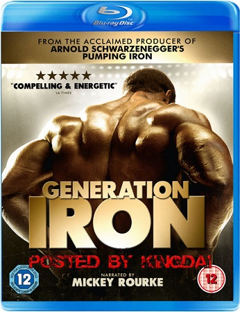 Poster Of Generation Iron 2013 English 350MB BRRip 480p Free Download Watch Online
