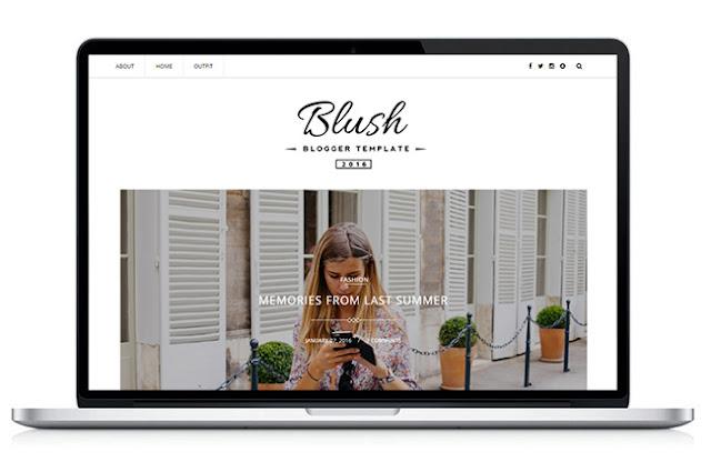 Blush - Responsive MultiPurpose Blogger Template