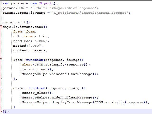 File Upload in Websphere Commerce