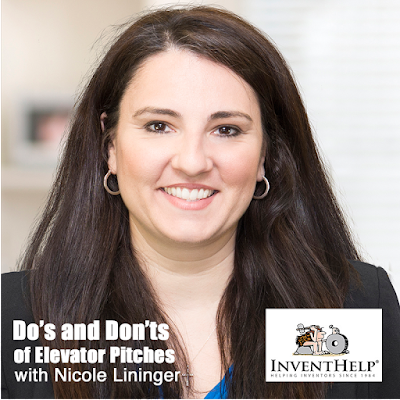 Nicole Langer of InventHelp help coach you on your elevator pitch.
