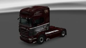 Scania RJL Sky Fall Skin
