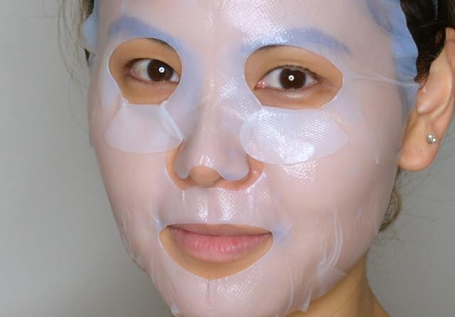 b.liv Age Eraser Bio Cellulose Mask Review