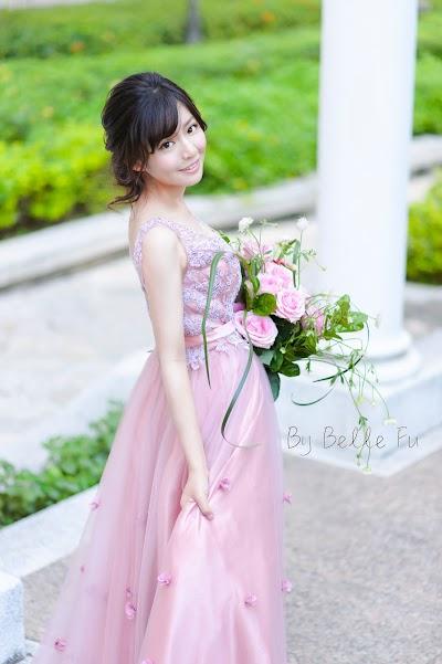 Belle Fu Stylist × 鬆盤髮&法式手綁花