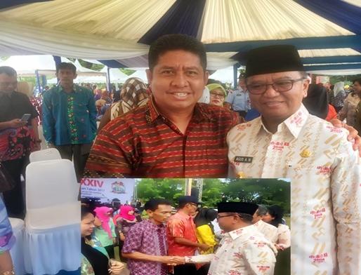 Motivator KB Selayar, Terima Penghargaan Di Peringatan Harganas XXIV Tk. Prov. Sulsel