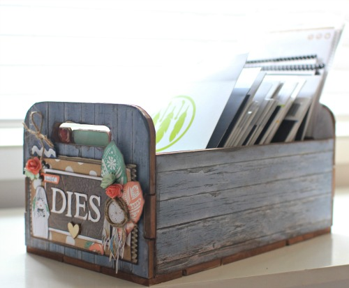 Kaisercraft Beyond the page Die Storage Box by Alicia McNamara