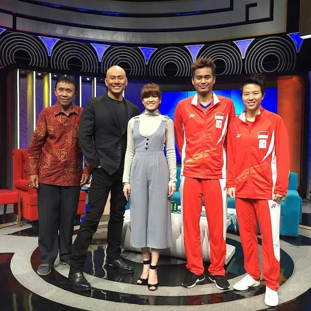 Moment Terbaik Acara Penyambutan Kepulangan Pahlawan Olahraga Indonesia