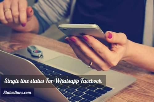 Line whatsapp status single [399+] New
