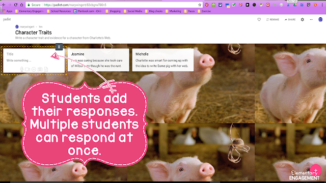 This post explains how Padlet can be used as a formative assessment.