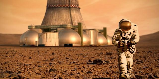 La idea es volver la colonización de Marte en un reality show