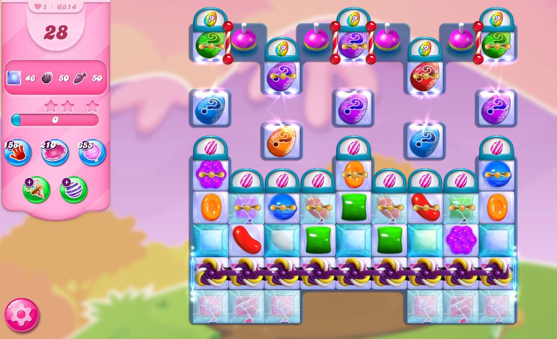 Candy Crush Saga level 6814