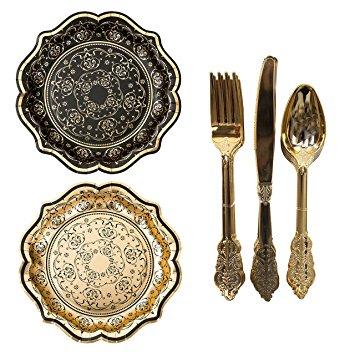mesa-elegante-platos-de-papel