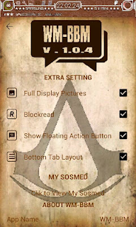 BBM MOD Assassin Creed