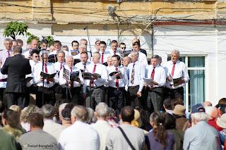 FOTO: Evanghelizare în Piața Traian din Timișoara - 23 aprilie 2016