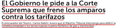 MAURICIO MACRI, JUSTICIA
