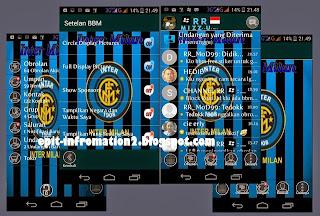 BBM Mod Inter Milan Based 2.8.0.21 Terbaru