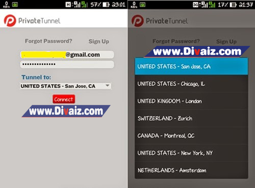 Trik Internet Gratis di Android - www.divaizz.com