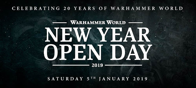 New Year Open Day Warhammer World