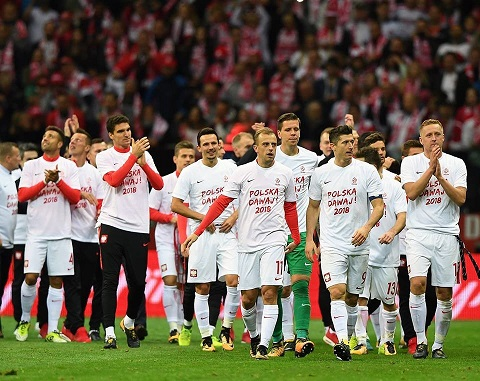 Đội tuyển Ba Lan trên sân cỏ
