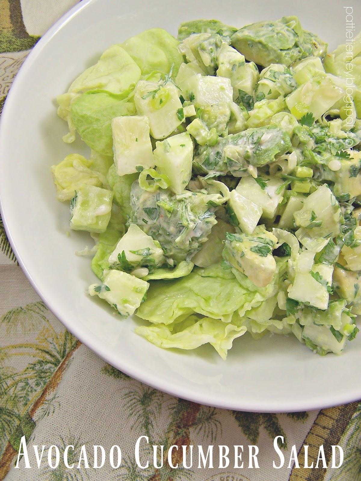 Olla Podrida Avocado Cucumber Salad