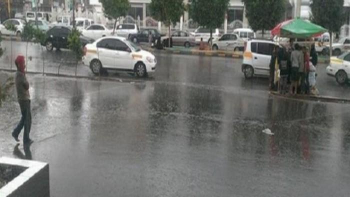 شبورة وأمطار رعدية
