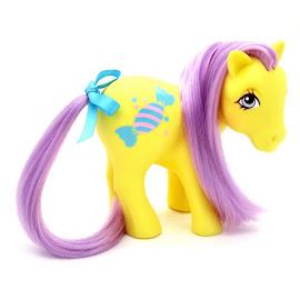 MLP Bon Bon Year Eleven Seven Characters G1 Pony