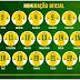 CBF divulga numeração da seleção na Copa; Neymar é 10