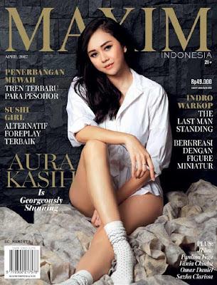 Majalah Maxim Indonesia Edisi April 2017 Aura Kasih Sexy Insightzone | Vania Chinka, Aura Kasih, Paulina Vega | www.insight-zone.com