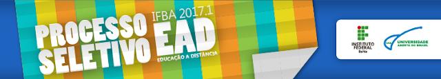 IFBA divulga errata e prorroga inscrições de seleção para cursos superiores EAD
