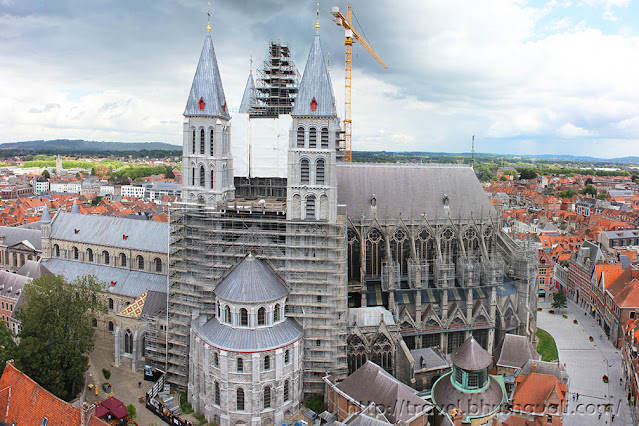 UNESCO Tournai Notre Dame Cathedral