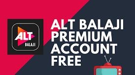 Altbalaji premium account username and password