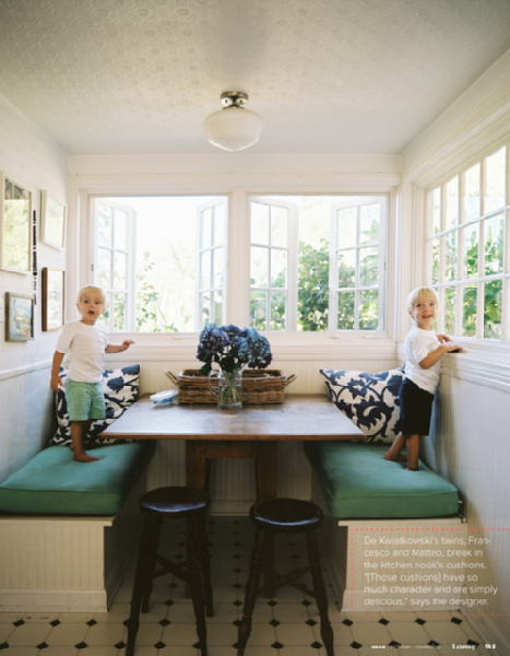 Trove Interiors A Closer Look Banquette Seating