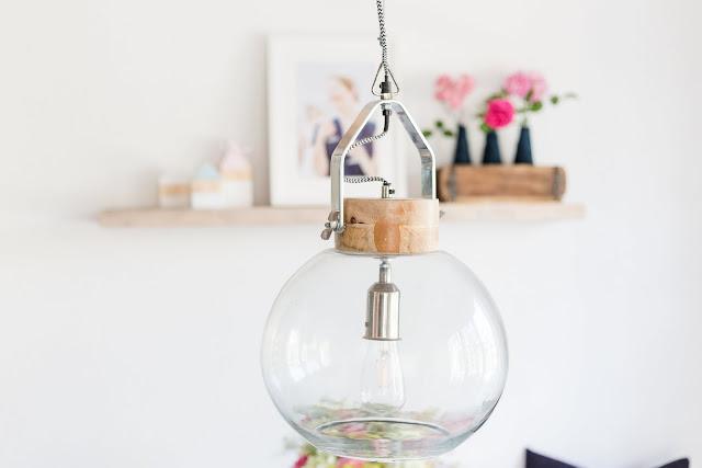Von Blumensträußen und Regaldeko,Industrielampe, Interior, Pomponetti