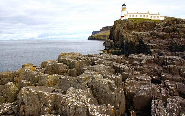Scotland Neist rocks