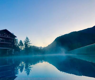 Infinity Pool im ASTORIA Resort in Seefeld