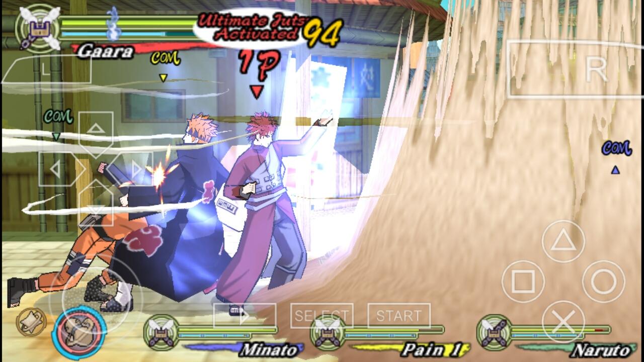 download save file naruto shippuden ultimate ninja heroes 3 psp