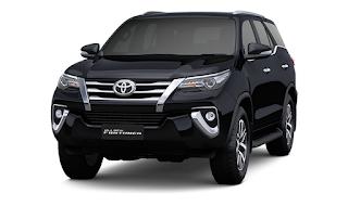 Gambar Toyota Fortuner Bandung