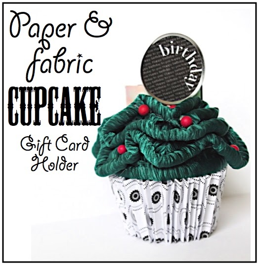 Creative Quot Try Quot Als Paper Cupcake Gift Card Holder