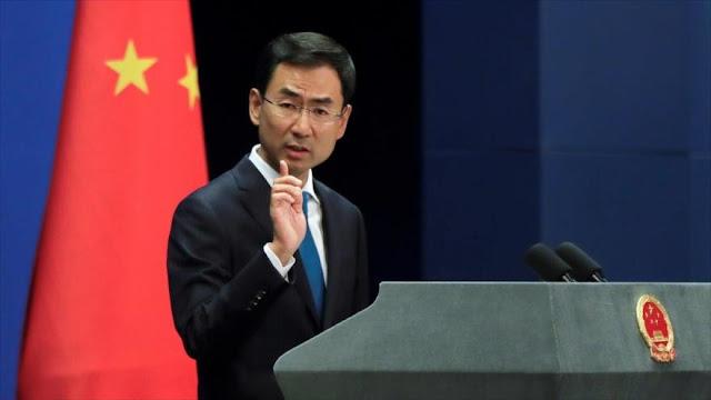 China 'se indigna' por sanciones de EEUU por compra de armas rusas