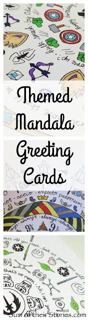Themed Mandala Greeting Cards