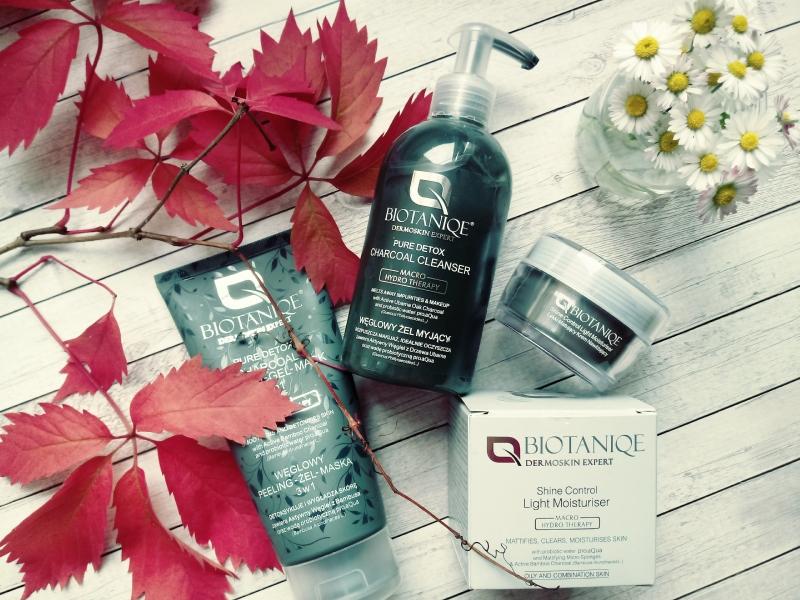 Węglowy detox dla skóry kosmetykami biotaniqe