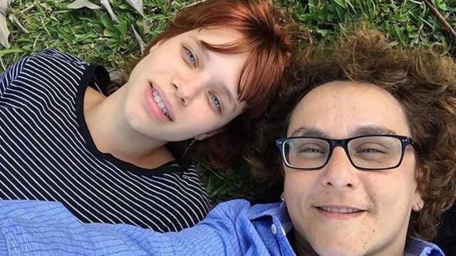 A atriz e a diretora de cinema