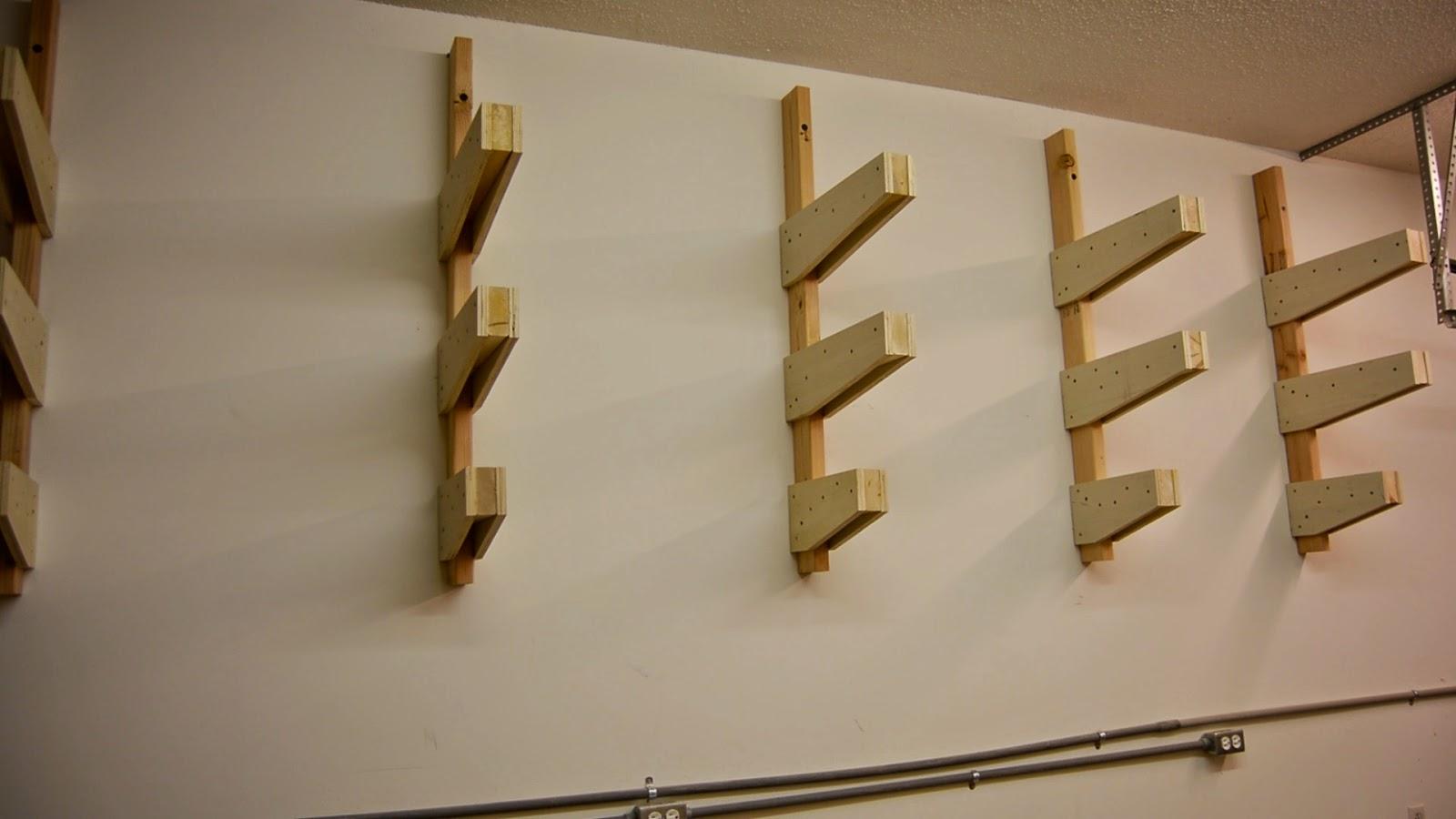 lumber rack ideas garage - Ana White