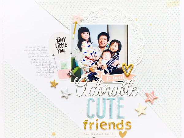 Crate Paper Design Team : Adorable Cute Friends