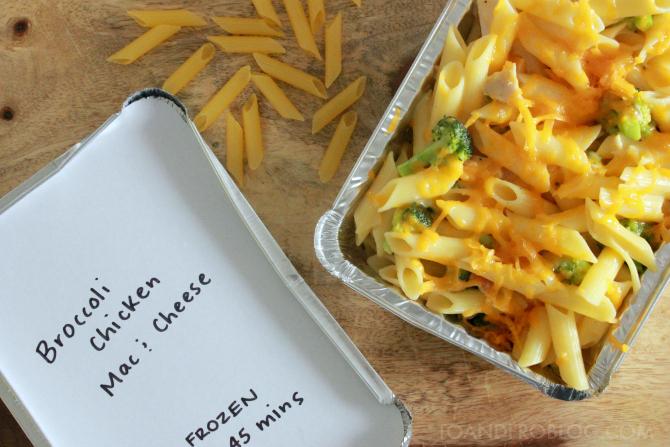 broccoli cheddar mac & cheese