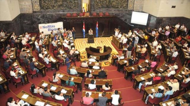 Diputados cubanos solicitan apoyo mundial contra el bloqueo de EEUU