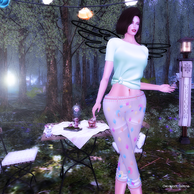 A tea in the magical forest