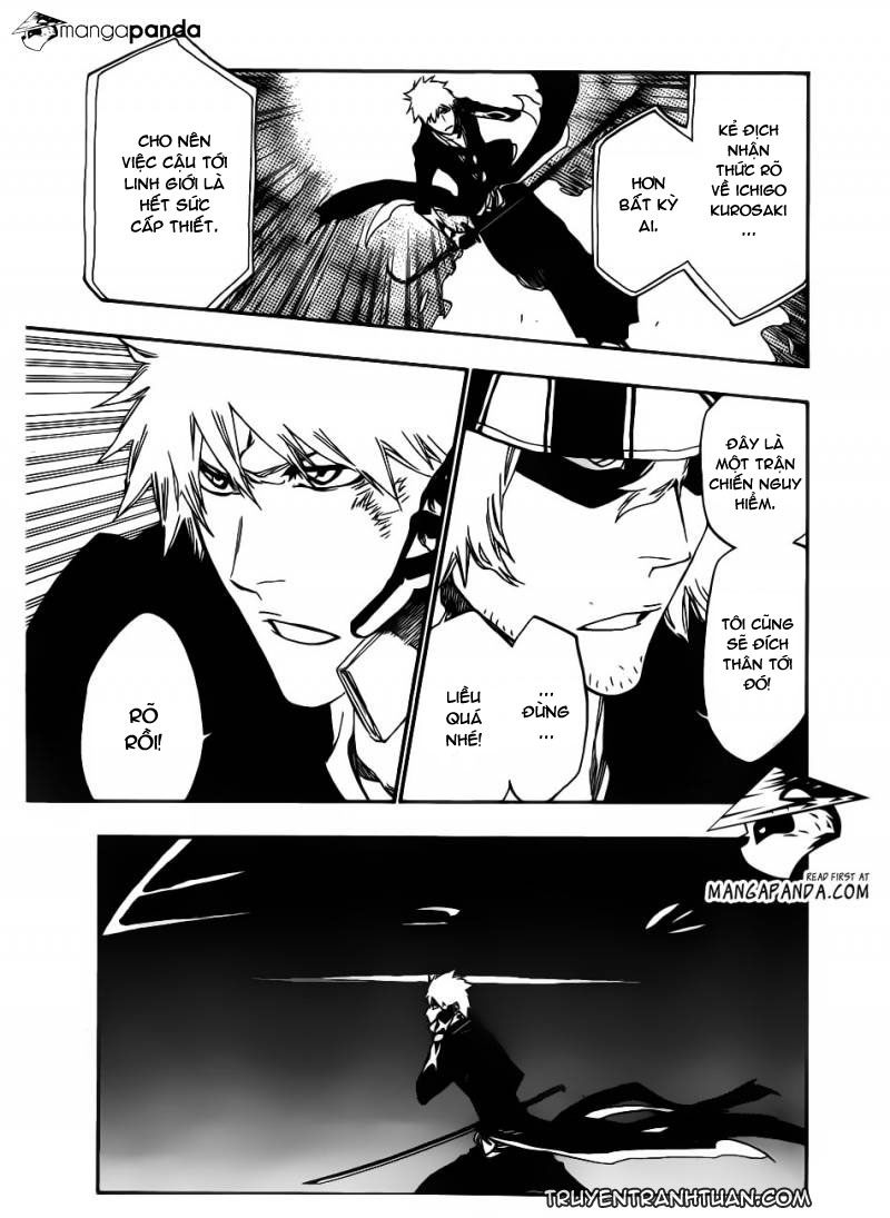 Bleach chapter 499 trang 11