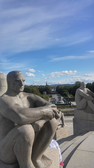 park, rzeźba, Oslo, park w Oslo, park Vigelanda, sculpture, Norway