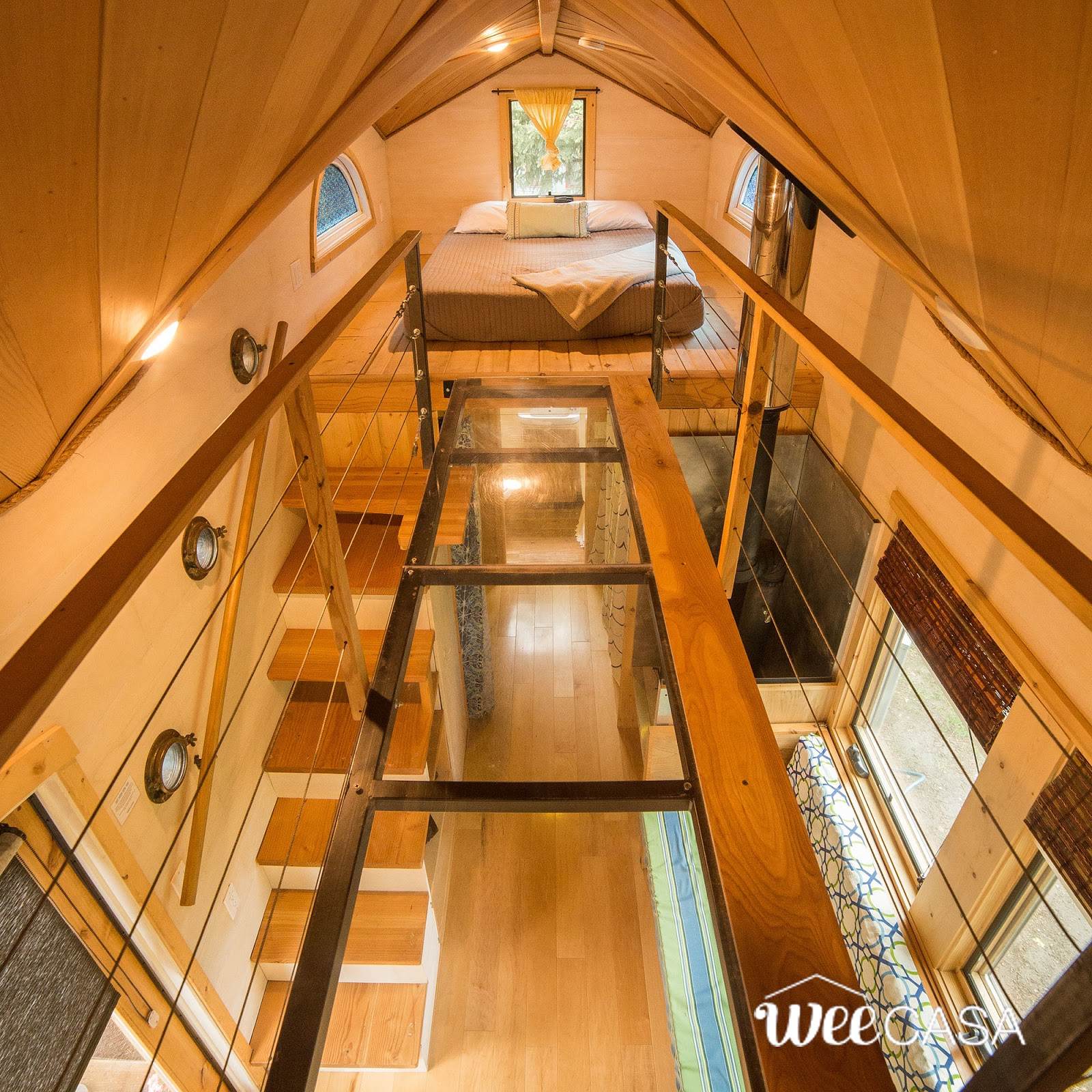 Tiny House Town The Pequod From Weecasa 194 Sq Ft